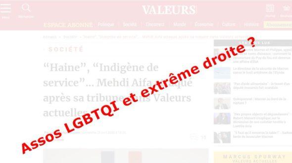 Accointances de certaines associations LGBTI avec l'extrême droite en France : en finir avec les silences complices
